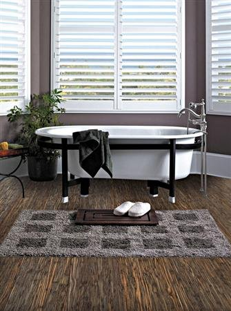 ColorFusion Engineered Strand Woven Bamboo Flooring Morning Mist By EcoFusion Flooring