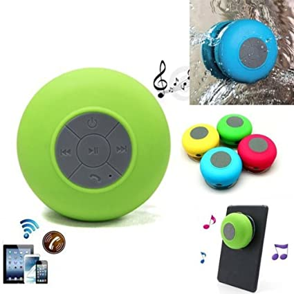 Tiny Deal BTS-06 Mini Shower Wireless Speaker