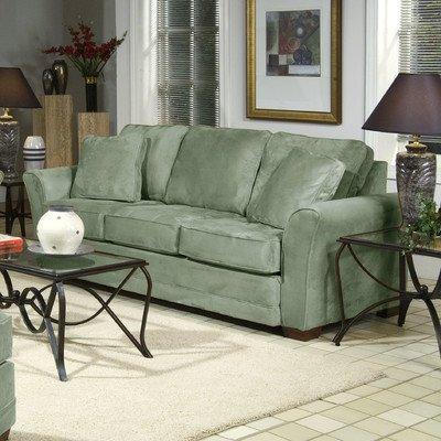 Sofa Fabric: Padded Army Green