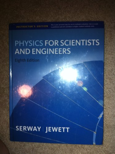 Physics For Scientists And Engineers 9th Edition Textbook.