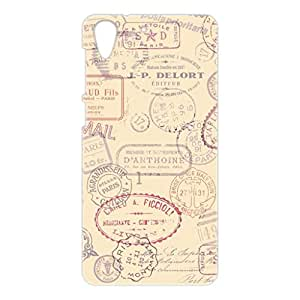a AND b Designer Printed Mobile Back Cover / Back Case For HTC Desire 728 (HTC_728_3D_401)