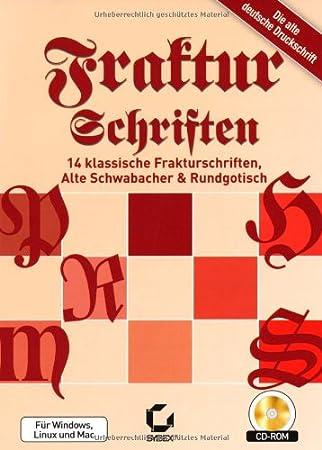 Fraktur Schriften