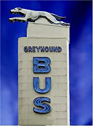 Bus Sign Art - Iconic 16x20-inch Photographic Print by Carol M. Highsmith