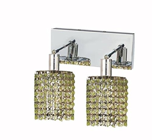 "Wiatt 2-Light 4.5""D Crystal Wall Sconce 1090W-O-R-Lp-Ss"