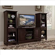 Big Sale Home Style 5542-34 Bermuda 3-Piece Entertainment Center, Espresso Finish