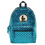 Disney The Little Mermaid Ariel Teal Fish Scale Backpack