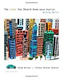 img - for The Least You Should Know about English: Writing Skills, Form A by Paige Wilson Teresa Ferster Glazier (2011-01-01) Paperback book / textbook / text book