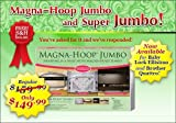 Magna Hoop Jumbo (Version J-eq) 8&quot; X 8&quot; Brother Quattro &amp; Babylock Ellisimo Embroidery Machine