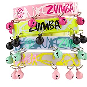 Buy Zumba Fitness Ladies Bells of the Ball Bracelets (Pack of 8) by Zumba Fitness