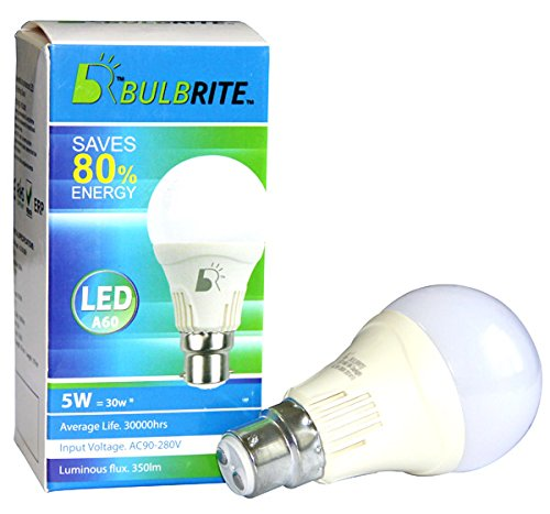 5W-LED-Bulb-(White)-