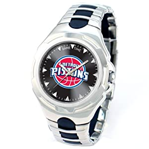 NBA Mens NBA-VIC-DET Victory Series Detroit Pistons Watch by Game Time
