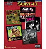 img - for [(Sum 41: Best of Transcribed Scores )] [Author: Sum 41] [Oct-2003] book / textbook / text book