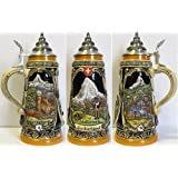 LE Lucerne Switzerland German Beer Stein .5L One New Mug Made in Germany