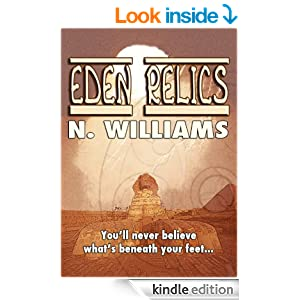 Eden Relics (A Zac Woods novel #1)
