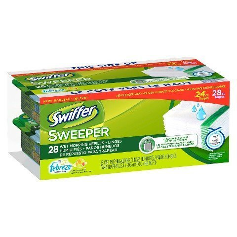 Swiffer Sweeper Wet Mopping Refills - Sweet Citrus & Zest 28 count (Swiffer Sweeper Wetjet compare prices)
