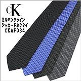 【calvin klein】 カルバンクライン ジャガードネクタイ CKAF034 【並行輸入品】