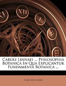 Free Bathroom Design Software on Caroli Linnaei     Philosophia Botanica In Qua Explicantur Fundamenta