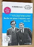 Dieter Hildebrandt 'Berlin ist einen Freiplatz wert - Die legendären Kabarett-Sendungen zur Eröffnung der Fernsehlotterie ´Ein Platz an der Sonne´ 1962 und 1964'