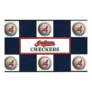 Big League Promotions Cleveland Indians Checkers by Big League Promotions
