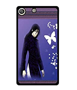Fuson 2D Printed Girly Designer back case cover for Sony Xperia M5 - D4143