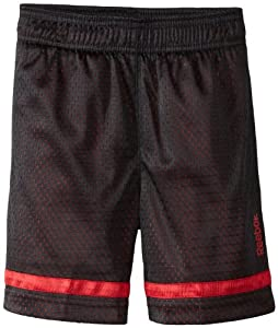 Reebok Boys 2-7 Open Hole Mesh Short, Red, Small