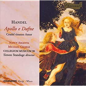 Apollo E Dafne, Hwv 122: XVIII: Aria: Cara Pianta, Co'Miei Pianti (Dearest Laurel, With My Tears) (Apollo)
