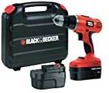 Black   Decker EPC188BK 18V NiCd Hammer Drill (2 Batteries and Kitbox)