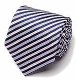 【SEBLES】メンズ 男性 ネクタイ ビジネス 結婚式 パーティー おしゃれ シンプル かっこいい ブルー 08 140cm