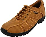 Ostrich Men's Tan Synthetic Leather Casual Shoes (OSTJKTAN, Size: 6 UK)