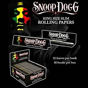 Snoop Dogg King Size Slim Rolling Papers (Contains 50 Booklets)