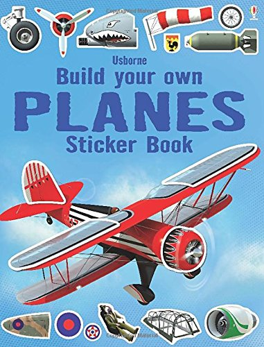 Build Your Own Planes Sticker Book (Build Your Own Sticker Books)