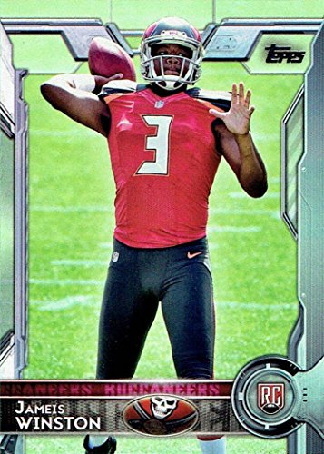 2015-Topps-NFL-Football-EXCLUSIVE-Factory-Sealed-Retail-Box-with-Special-Commemorative-SUPER-BOWL-COIN-Includes-ROOKIE-in-Every-Pack-Look-for-RC-Autographs-of-Jameis-WinstonMarcus-Mariota-More
