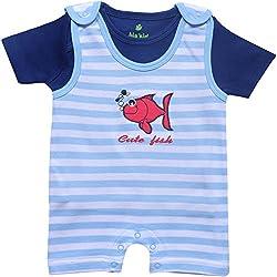 BIO KID Baby Boys' Clothing Set (BTI-198-80, Multicolour, 9-12 m)