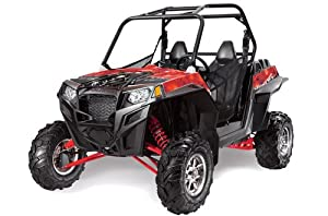 AMR Racing Polaris RZR 800 900xp 2011 UTV Side X Side, Graphic Decal Kit - Re...