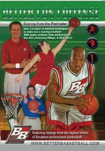 ベター1オン1オフェンス(日本語字幕付)ベターバスケットボール [DVD]