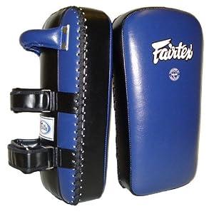 Fairtex Thai Kick Pads Extra Thick - Blue & Black