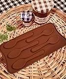 おうちカフェ シリコンモールド スプーン型「お菓子作り 手作り石鹸、キャンドル バスボムの型にも!  フェイクスイーツ クラフト 粘土  押し型・抜き型   レジン型 粘土型 キャンドル型 石鹸型 シリコン型 プラ板  おうちカフェ レシピブログ スイーツ クックパッド haru-mi Comehome  mama's cafe  バレンタイン(スプーン)