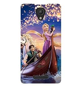 Printvisa Princess Sailing With The Prince Back Case Cover for Xiaomi Redmi 3S::Xiaomi Redmi 3::Xiaomi Redmi 3 (3rd Gen)