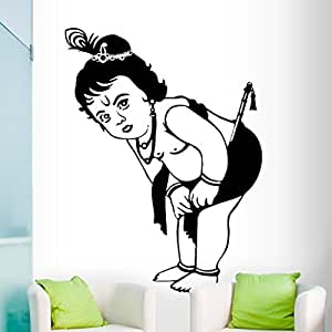 DeStudio Krishna Flip Chalkboard Wall Decal, Size MEDIUM & Color : BLACK