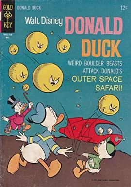 Donald Duck #113 Comic Book (May 1967) Very Good