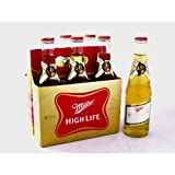 Miller High Life 12 oz. (355 mL bottle) - 6 Pack