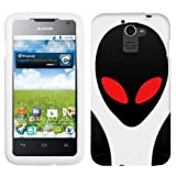 Huawei Premia 4G UFO Alien Ghost On White Cover Case