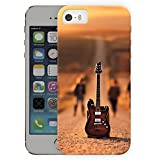 Desert Guitar Band Music Printed Designer Mobile Back Cover For Apple Iphone 5 - 5S By Ulta Anda (3D, Matte Finish, Premium Quality, Protective Snap On Slim Hard Phone Case, Multi Color)