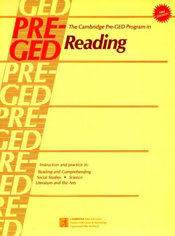 The Cambridge Pre-Ged Program in Reading.