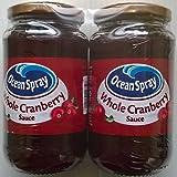 Ocean Spray Whole Cranberry Sauce - 2 x 630gm