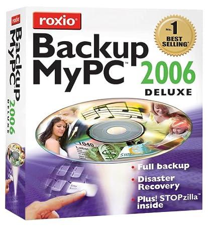 Roxio Backup MyPC Deluxe 2006