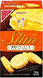 ナビスコ スリムサンド薄焼きクラッカー&チェダーチーズ 18枚×5箱