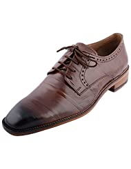 D.Desire Men's Leather Formals & Lace-Up Flats - B00Y1EHG3K