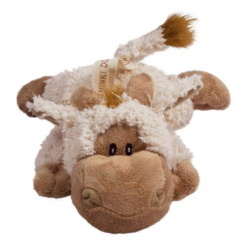 KONG Cozie Tupper the Lamb, Medium Dog Toy, Tan