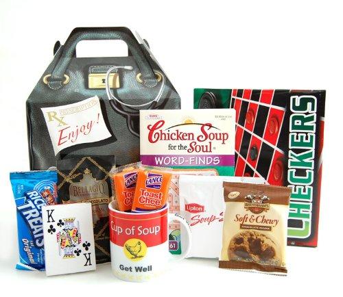 Get Well Doctor's Orders Gift Basket